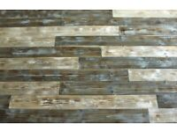 Pallet wood reclaimed style ,rustic timber boards wall decoration