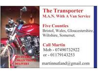 Motorcycle, Trike & Car Transportation , Collect & Delivery Service