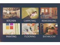 Painting&Decorating ,Wall paper ,kitchen ,bathroom, Plastering ,Flooring