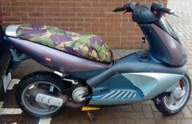 aprilia 50cc scooter