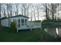 Platinum caravan (the Chamonix) to hire at haggerston castle, in Lakefield GREAT VIEW