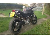 DUCATI MONSTER 696 (FULLY CARBON)