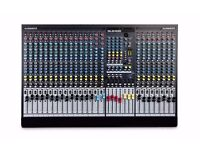 Allen & Heath GL2400-24 24-Channel Dual-Function Mixing Console (used)