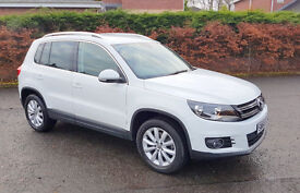 Volkswagen Tiguan 4MOTION 2.0 TDi BlueMotion Tech Match - 2014 - lady owner and very low Mileage.