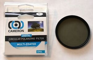72MM Polarizing Multi-Coated C-POL Cameron Filter - Filtre