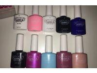 Candy coat nail gel