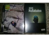 ♩MUSE Hullabaloo & Absolution Tour Live Dvds. 3 Disc♩