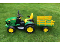 Kids Battery Powered Tractor