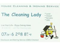 House Cleaning & Ironing Service at only £10-/hr