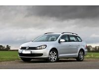 vw golf bluemotion estate SE 1.6