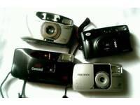4 35mm compact film cameras
