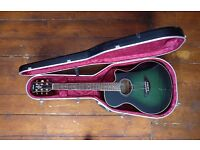 Yamaha APX-7A Electro-Acoustic guitar, Hiscox hard case