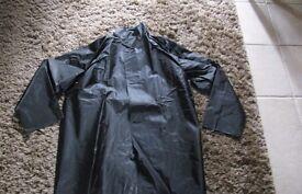 2 Men's industrial waterproof 3/4 length coats never worn
