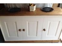 Pitch Pine 🌲 Antique Sideboard.Quality. Free same day delivery service available