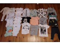 Baby boy clothes bundle age 12-18 months sleepsuits vests tshirts 26 pieces