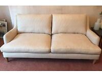 John Lewis 3 Seater Sofa - few months old, unused