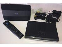 BT youview box 500GB - HD recorder BT home hub 6 wireless