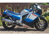 GSXR 1100 G slabside 1986 classic collector motorcycle