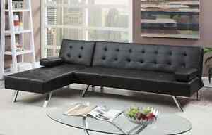 Brand New Leather Look Adjustable Sofa only $649 Bayswater Bayswater Area Preview
