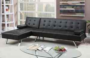 Leather Look Adjustable Sofa only $649 FREE PERTH METRO DELIVERY Bayswater Bayswater Area Preview