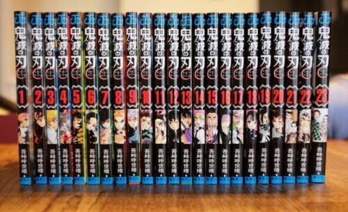 """Japanese Language""Kimetsu no Yaiba Demon Slayer Vol.1-23 Complete Set"