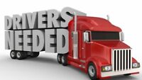 Class 1 & 5 truck drivers needed!