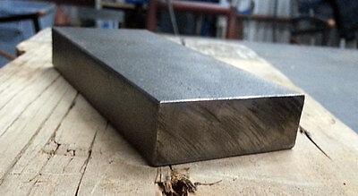 "5x2 STEEL BENCH BLOCK JEWELERS, Blacksmiths Gunsmiths, METAL WORKING 3/4"" Thick"