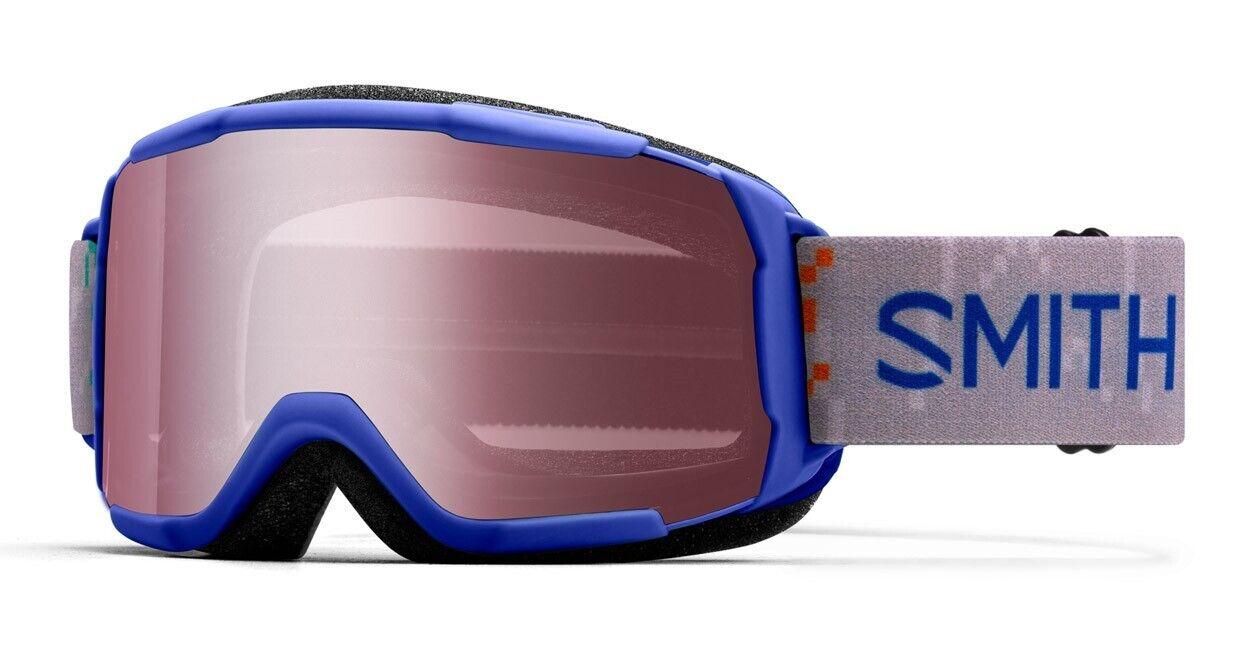 Smith Daredevil Youth Ski Snowboard Goggles Blue Creatures I