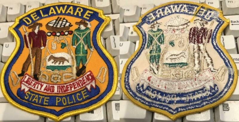 Delaware State Police Patch  free ship