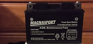 New Motorcycle Battery
