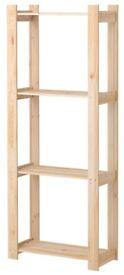 Wooden racking