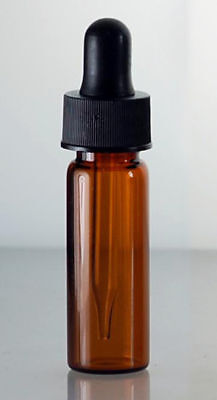 12 Pcs 1 Dram 4 Ml Amber Glass Vials With Dropper