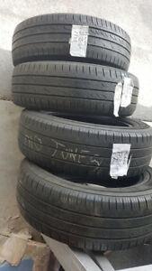 4 pneu d'ete Kumho 185 65R 15 bon etat