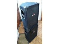 2 DAS Mi-112 DJ/GIG 450W Speakers