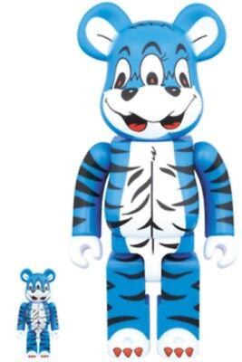 Medicom Toy NY@BRICK KIDILL Bear 100% & 400% Figure toy 2pcs set from Japan