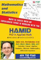 ★★A Professional and Experienced Math Tutor with a PhD in Math★★