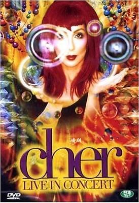 Cher DVD - Live In Concert (New & Sealed)