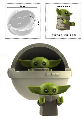 BABY YODA & CARRIAGE B MINIFIGURE FIGURE USA SELLER NEW IN PACKAGE
