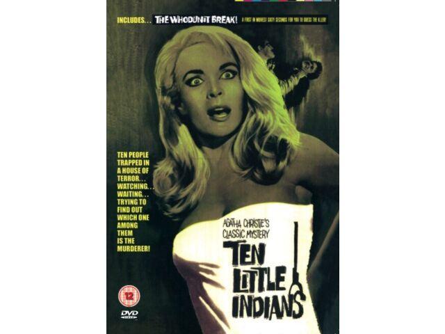Ten Little Indians (DVD) 1965 -Shirley Eaton, Hugh O'Brien -Brand New -free post