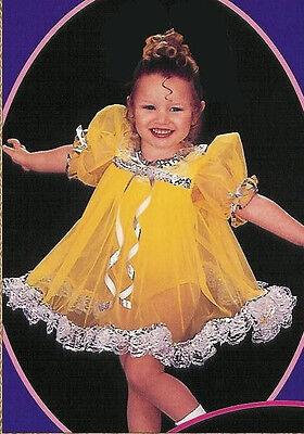Shirley Temple Costume (Shirley Temple Babydoll Dress Dance Jazz Costume Child XS -)