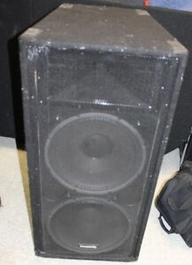 Two Community High Performance XLT 47 Speakers for Band or DJ