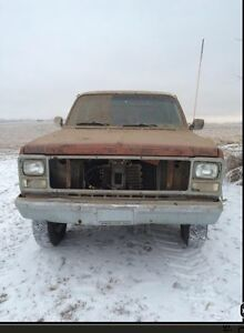 1980 Jimmy for Parts 350 running