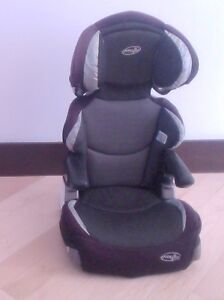 Evenflo high back booster seat, good condition