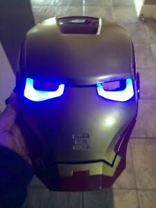 Brand new Kid's Light Up Mask and Cape for Halloween