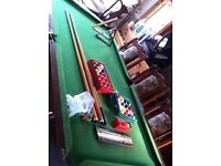dinning table/pool table
