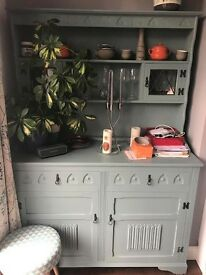 a Farrow & Ball Oval Room painted Welsh Dresser