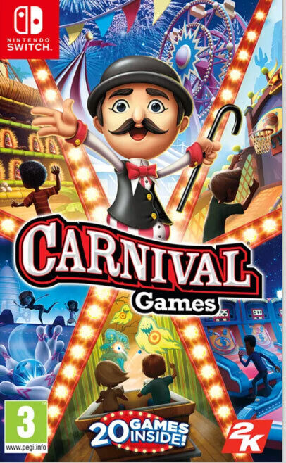 Carnival Games [Code In Box]  (Switch)