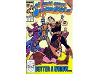 Avengers west coast number 44 comic