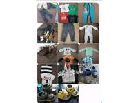 Baby boy's bundle of clothes 12-18 months