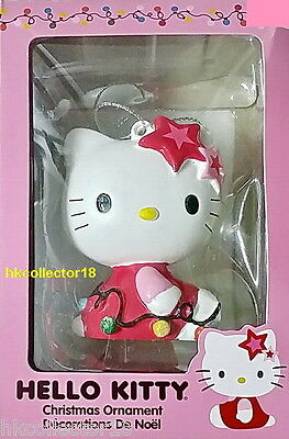Hello Kitty Sitting with String Lights Decoration Hanging Ornament Christmas